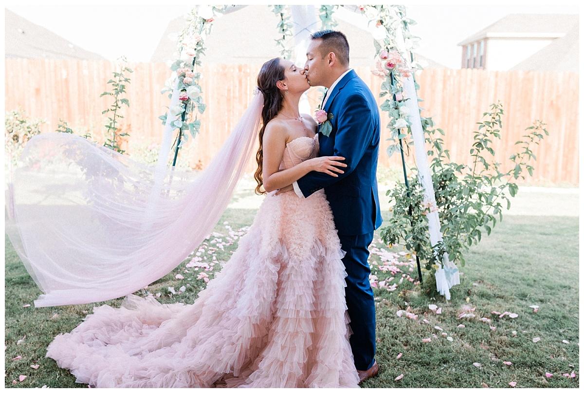 backyard texas wedding